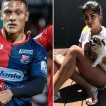 Javier Reina, Andreína Fiallo, Fútbol y Ellas, portada