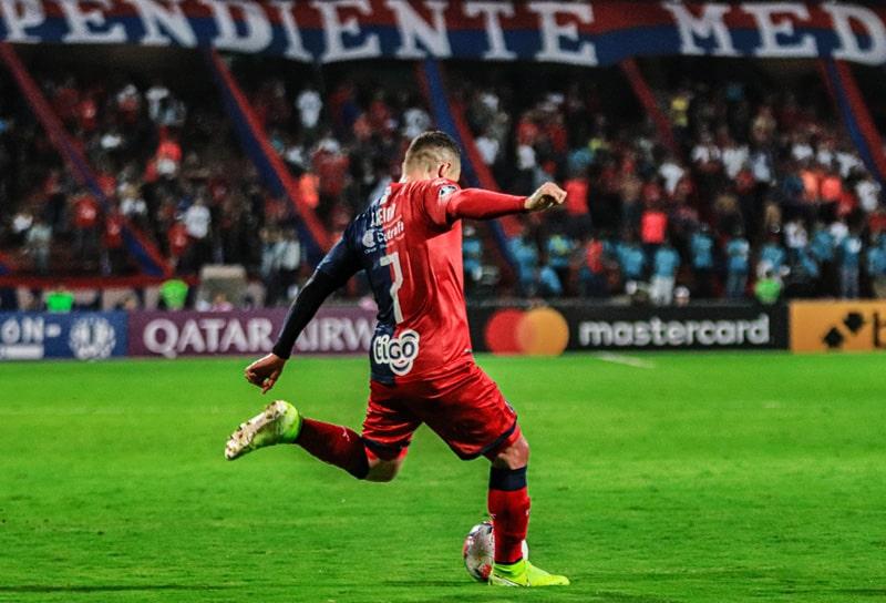 Javier Reina, DIM 1 - 2 Club Libertad, Copa Libertadores 2020