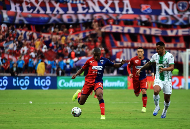 Juan David Mosquera, DIM 1 - 3 Atlético Nacional, Liga 2020-I