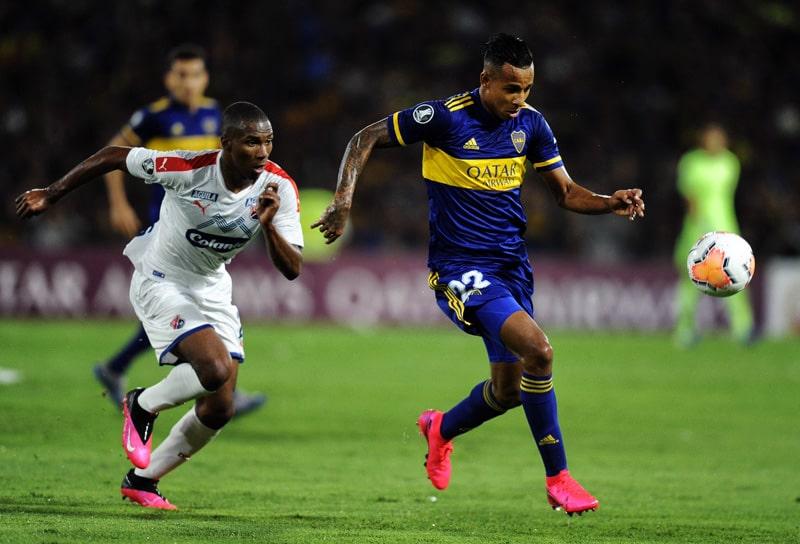 Juan David Mosquera, Sebastián Villa, Boca Juniors 3 - 0 Medellín, Copa Libertadores 2020