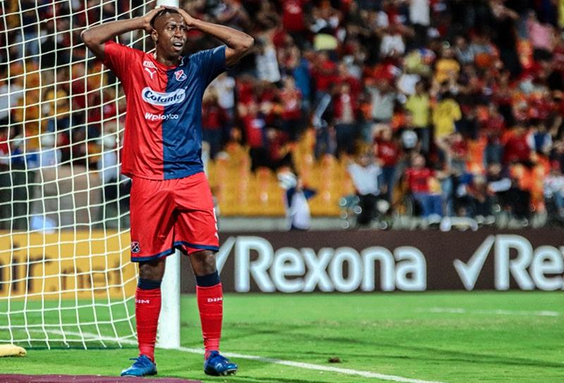 Juan Fernando Caicedo, DIM 4 - 0 Deportivo Táchira Fútbol Club, Copa Libertadores 2020