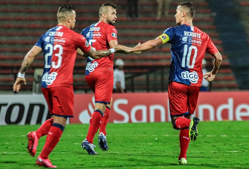 Leonardo Castro, Andrés Cadavid, Andrés Ricaurte, Medellín 1 - 2 Libertad, Copa Libertadores 2020