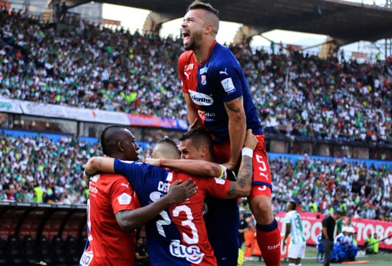 Leonardo Castro, Andrés Cadavid, Atlético Nacional 1 - 1 DIM, Liga 2020-I