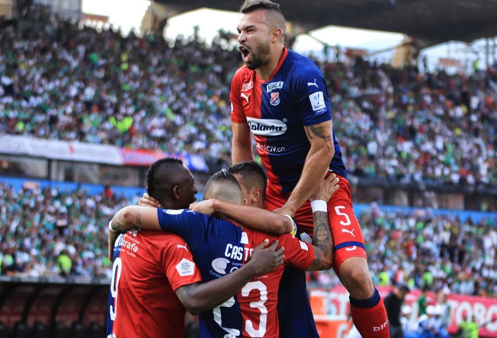 Leonardo Castro, Andrés Cadavid, Atlético Nacional 1 - 1 Deportivo Independiente Medellín, Liga 2020-I