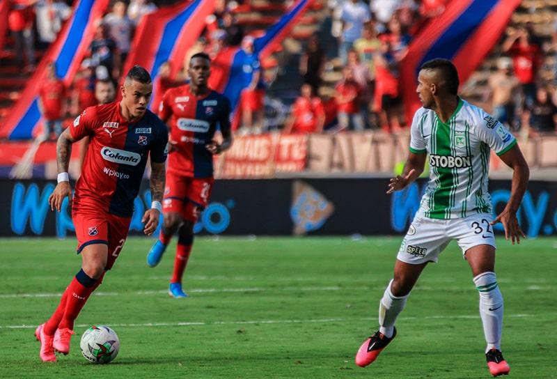 Leonardo Castro, Nacional 1 - 1 Medellín, Liga BetPlay Dimayor 2020-I