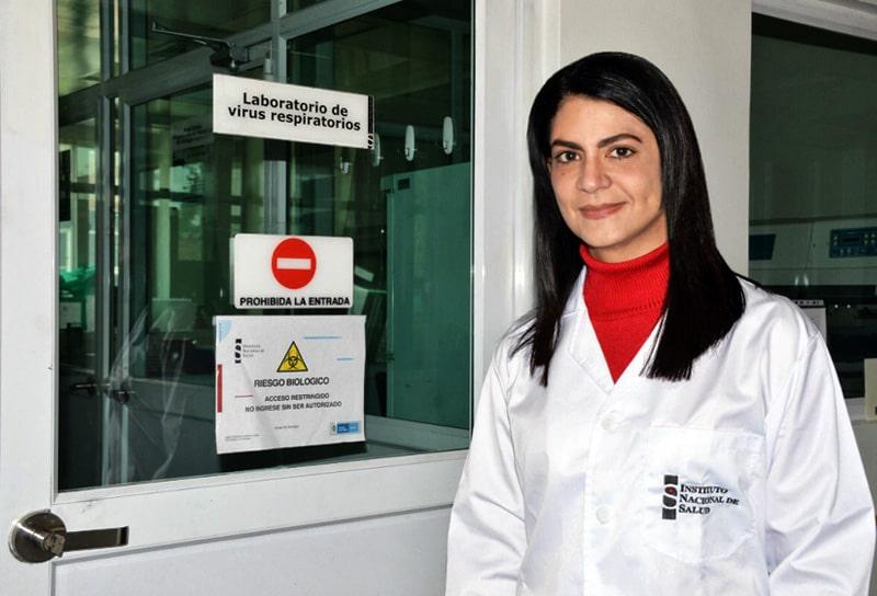 Martha Lucía Ospina, Instituto Nacional de Salud, coronavirus COVID-19