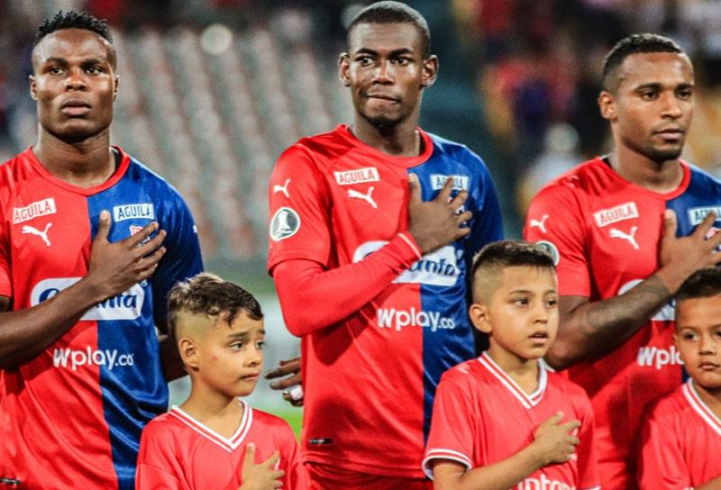 Yulián Gómez, Didier Delgado, Bayron Garcés, Medellín 1 - 2 Libertad, Copa Libertadores 2020