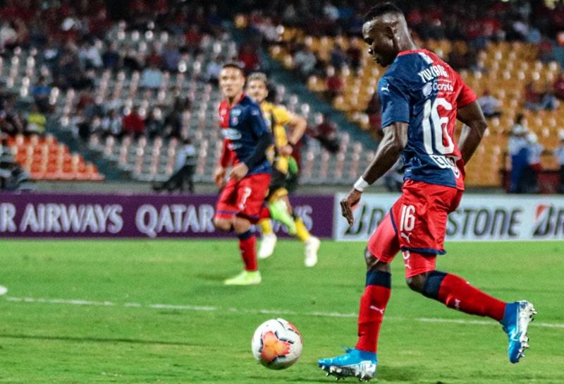 Yulián Gómez, Medellín 4 - 0 Táchira, Copa Libertadores 2020 (1)
