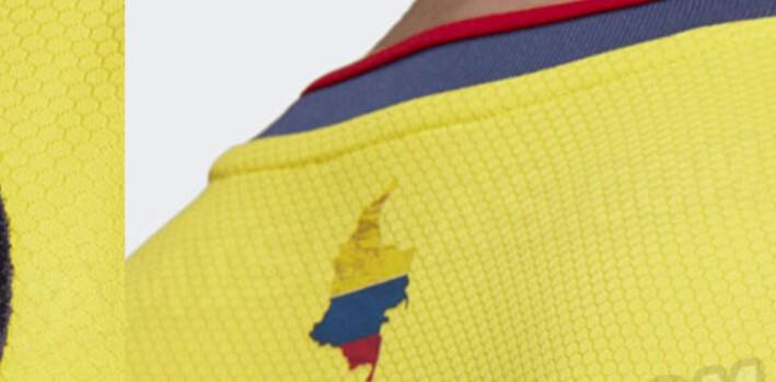 Más detalles sobre la nueva camiseta de la Selección Colombia