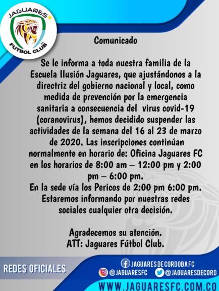 Equipos del fútbol colombiano que paran por el coronavirus 10