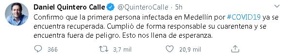 Medellín coronavirus