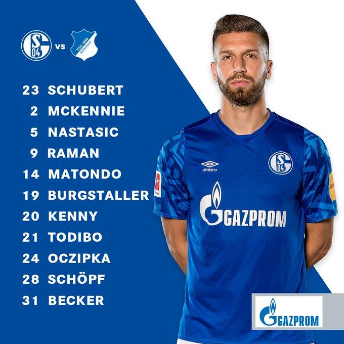 Schalke Hoffenheim Sky