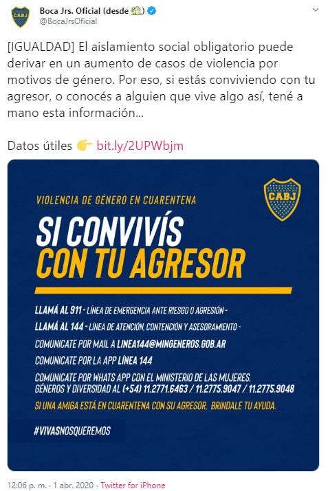 Boca Juniors, Sebastián Villa, Daniela Cortés, agresión (1)