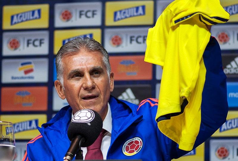 Carlos Queiroz, Selección Colombia, Federación Colombiana de Fútbol