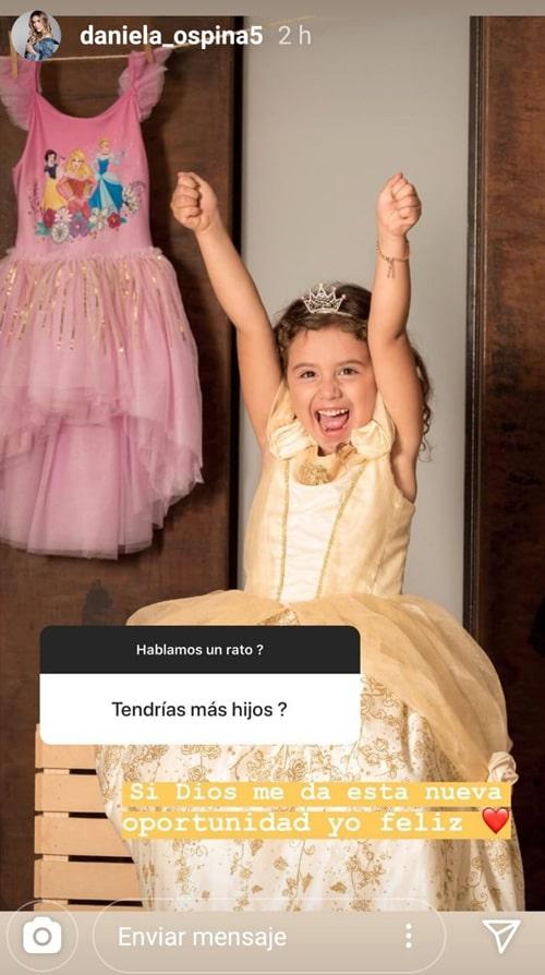 Daniela Ospina, Salomé Rodríguez, Instagram