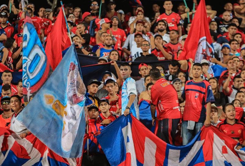 DIM 1 - 3 Atlético Nacional, Liga 2020-I, afición (2)
