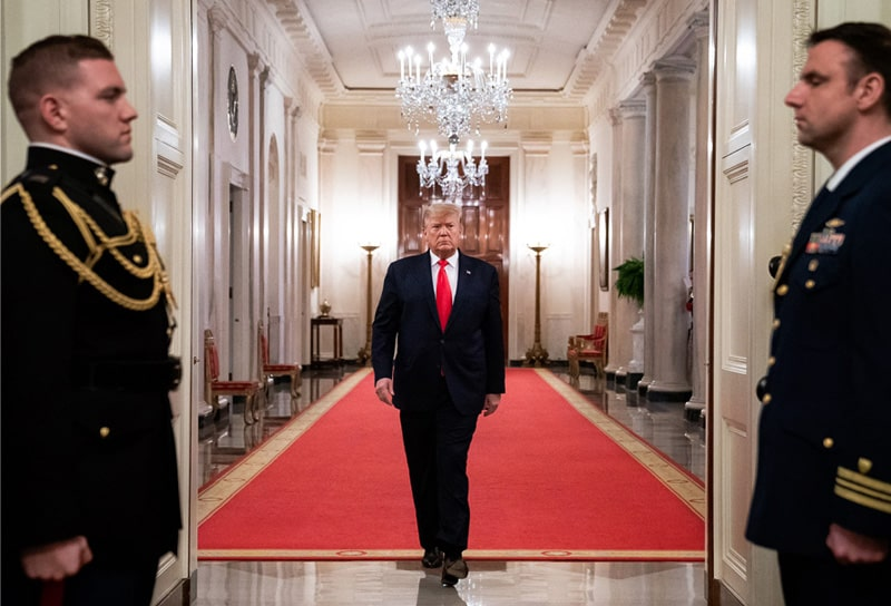 Donald Trump, Estados Unidos, coronavirus COVID-19 (1)