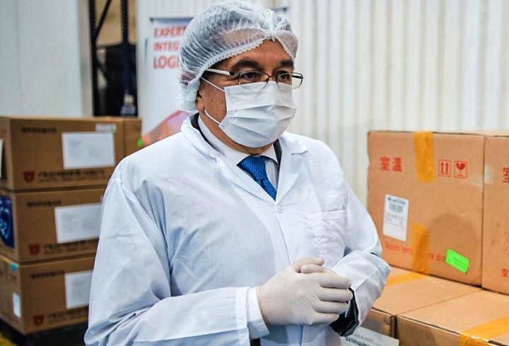 Fernando Ruiz, Ministerio de Salud, coronavirus COVID-19 (30)