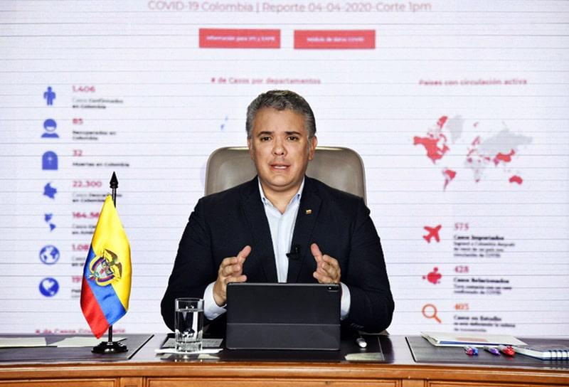 Iván Duque, Colombia, coronavirus COVID-19 (13)