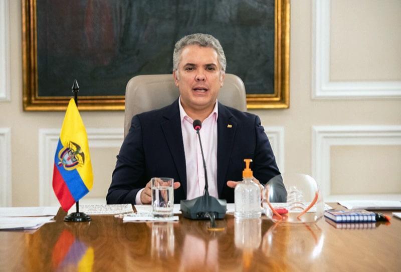 Iván Duque, Colombia, coronavirus COVID-19 (22)