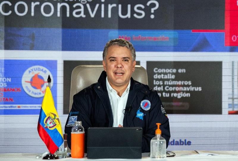 Iván Duque, Colombia, coronavirus COVID-19 (23)