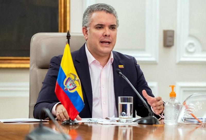 Iván Duque, Colombia, coronavirus COVID-19 (25)