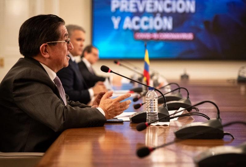 Iván Duque, Fernando Ruiz, Ministerio de Salud, coronavirus COVID-19 (6)