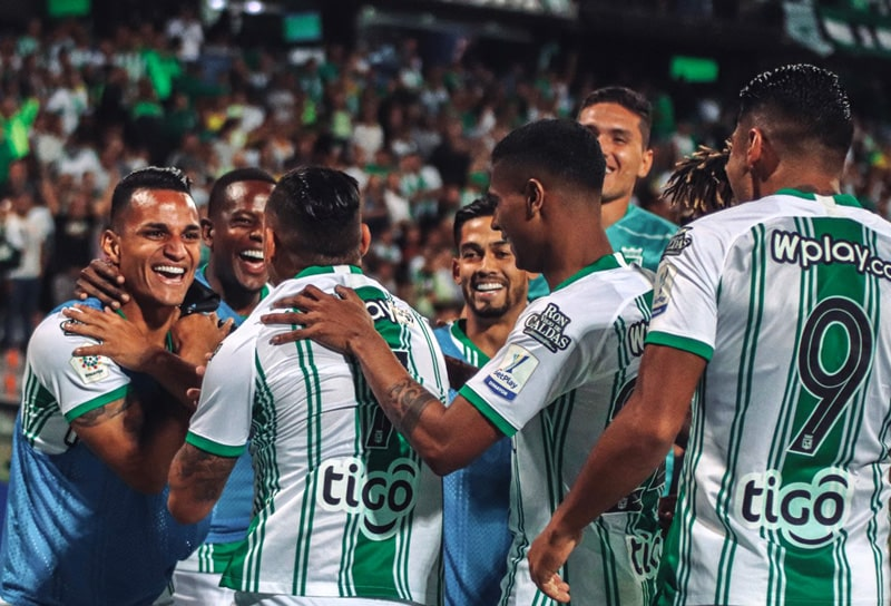 Jarlan Barrera, Atlético Nacional 2 - 0 Deportivo Pereira, Liga 2020-I (1)