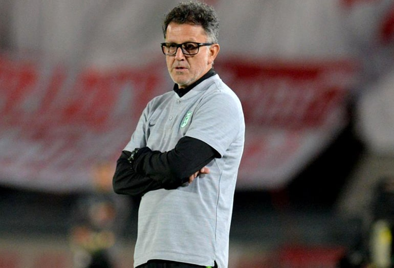 Juan Carlos Osorio, Independiente Santa Fe 0 - 0 Atlético Nacional, Liga Águila 2019-II (1)