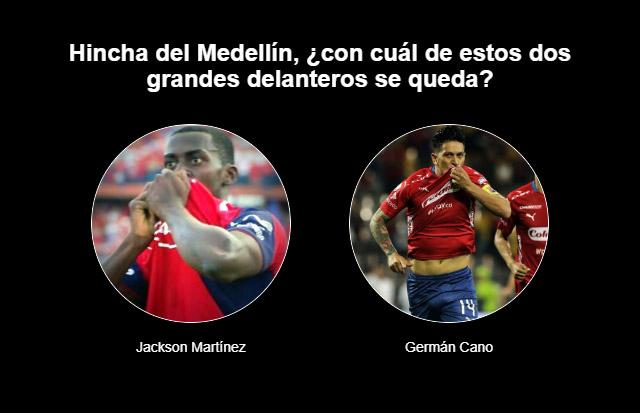 Mano a mano de goleadores del DIM: ¿Jackson Martínez o Germán Cano?