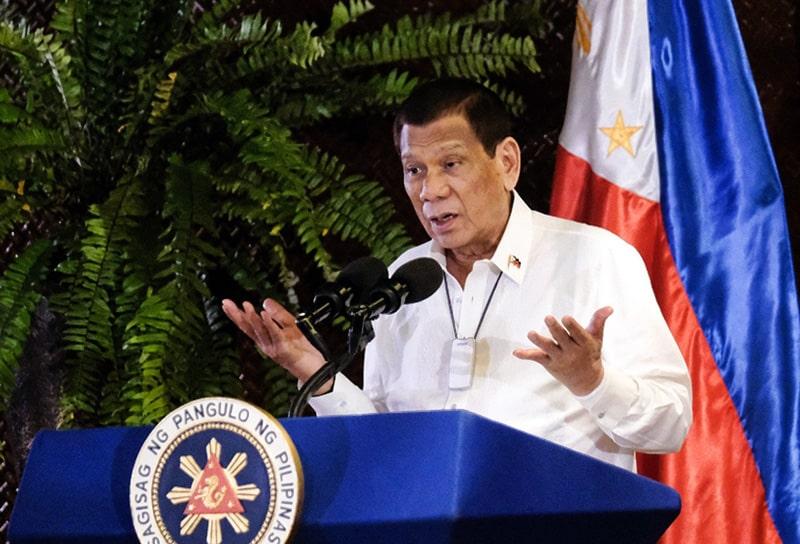 Rodrigo Duterte, Filipinas, coronavirus COVID-19