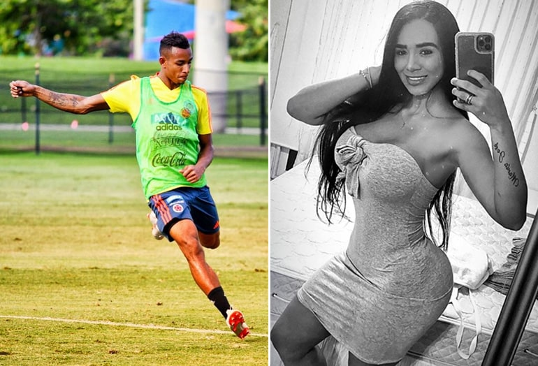 Sebastián Villa, Daniela Cortés, Selección Colombia, Boca Juniors