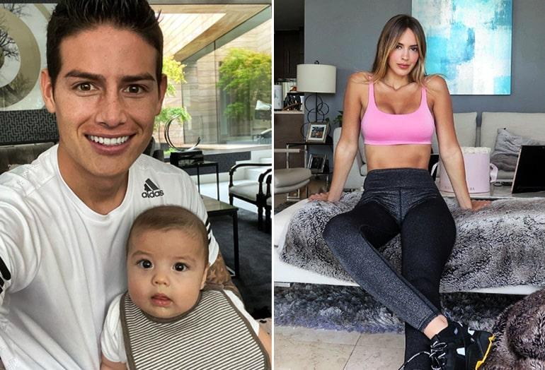 Shannon de Lima, Samuel Rodríguez, James Rodríguez, portada, Fútbol y Ellas