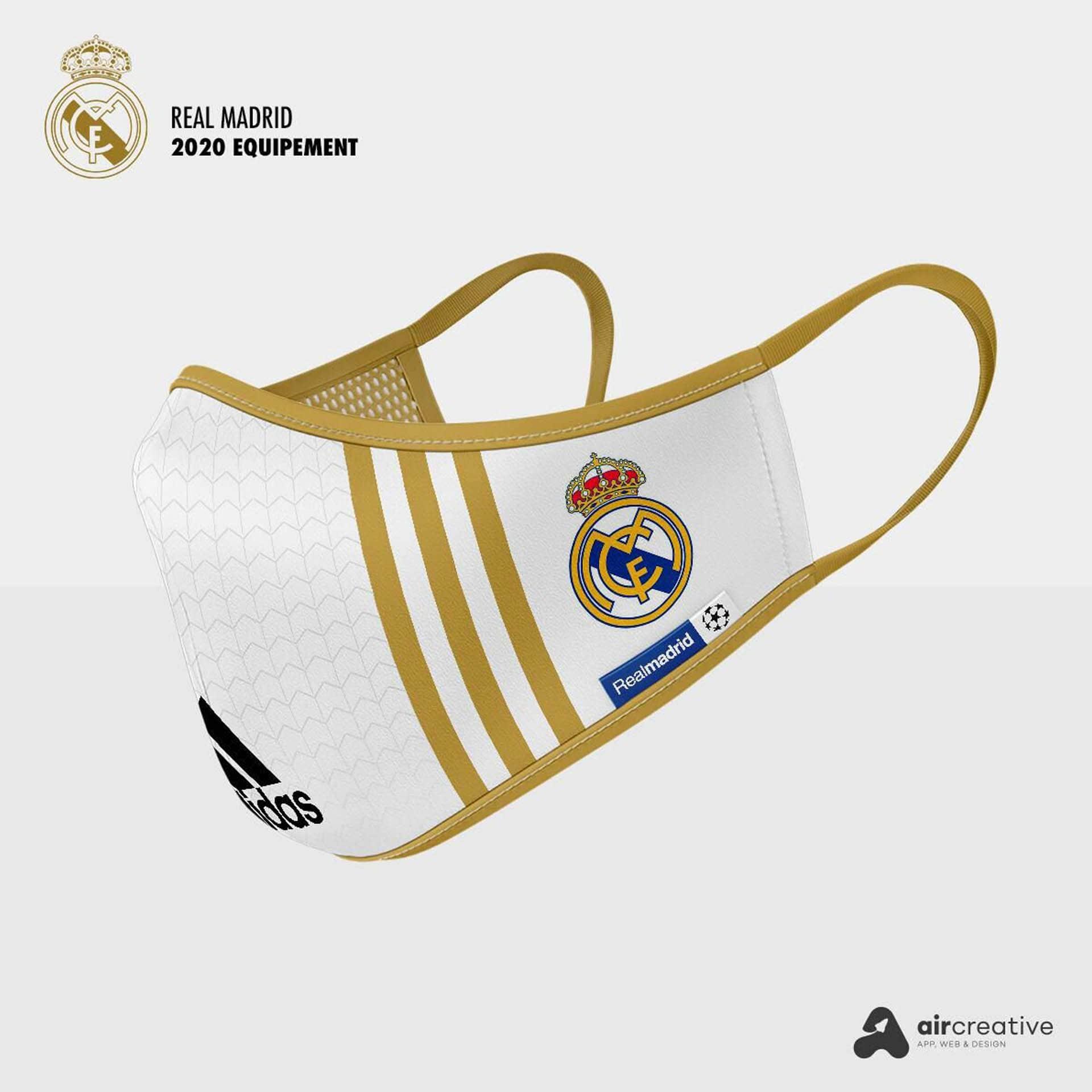 Así serían los tapabocas personalizados para los equipos españoles 4