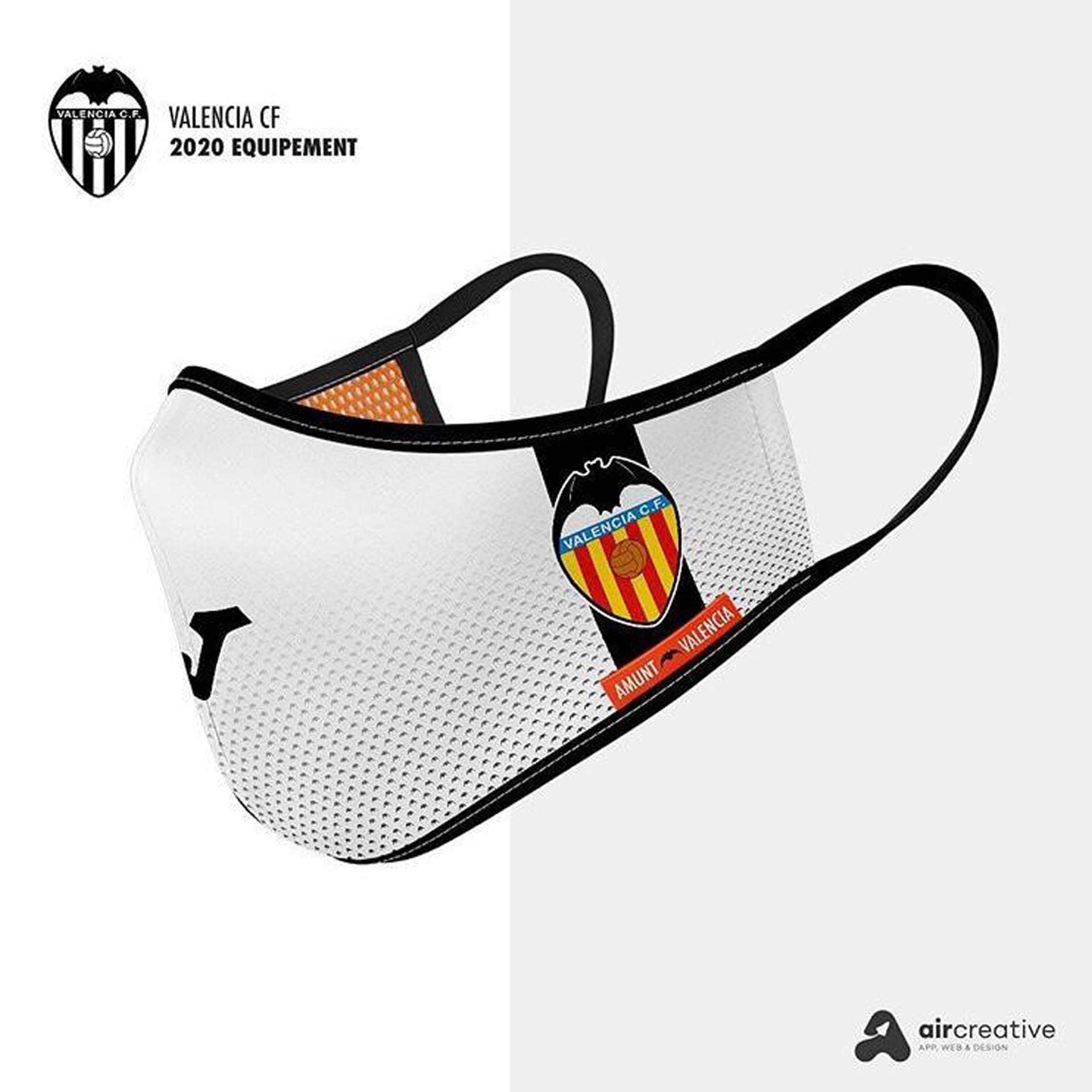 Así serían los tapabocas personalizados para los equipos españoles 1