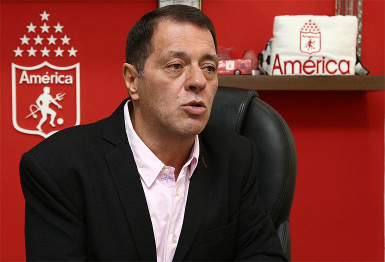 """Si América de Cali no va a Copa Sudamericana es fracaso"""
