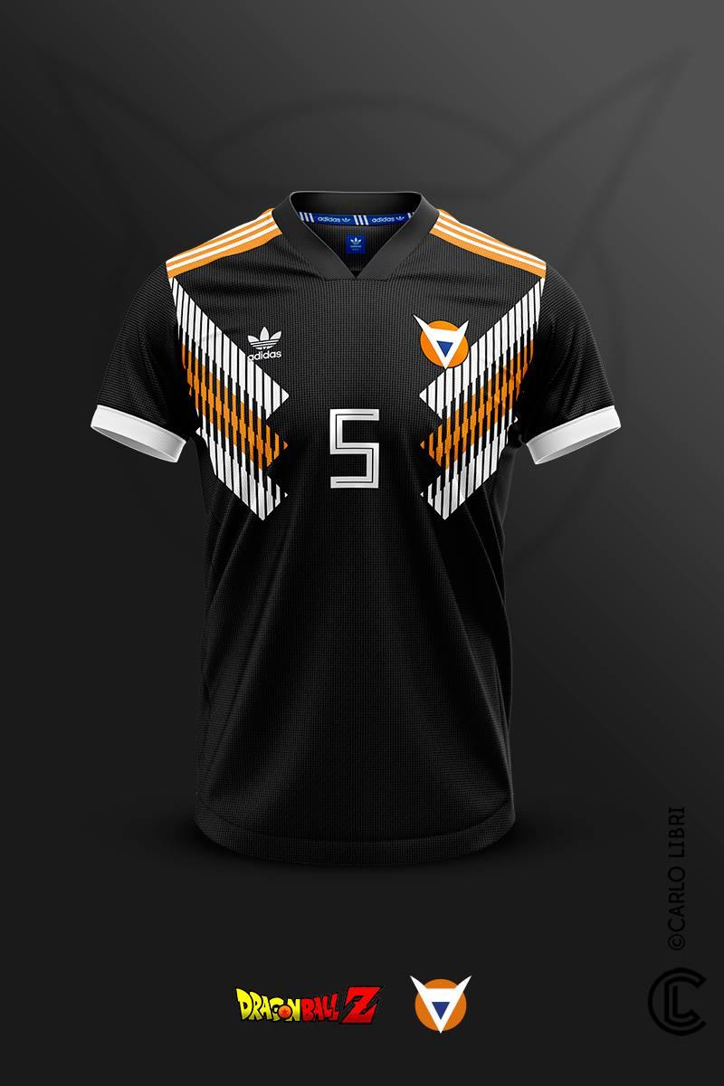 ¡Camisetas futboleras inspiradas en Dragon Ball! 4