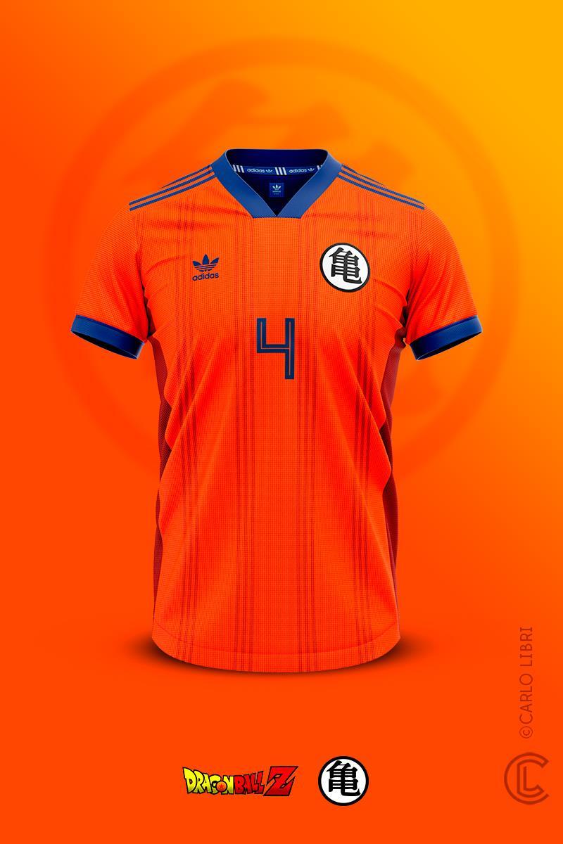 ¡Camisetas futboleras inspiradas en Dragon Ball! 5