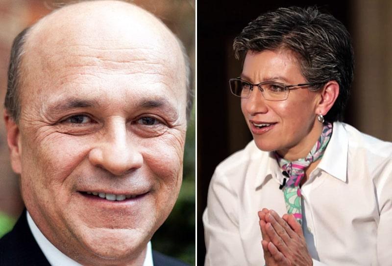 Carlos Antonio Vélez, Claudia López, Iván Duque
