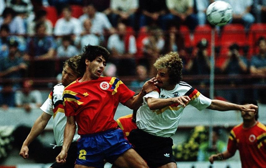 Colombia 1 - 1 Alemania, Andrés Escobar, Mundial de Fútbol Italia 1990