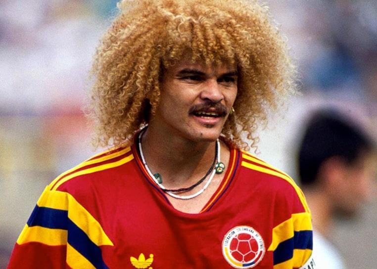 Colombia 1 - 1 Alemania, Carlos el 'Pibe' Valderrama, Mundial de Fútbol Italia 1990 (2)