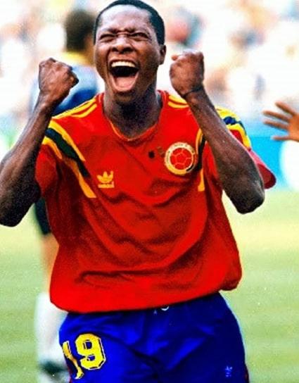 Colombia 1 - 1 Alemania, Freddy Rincón, Mundial de Fútbol Italia 1990 (1)