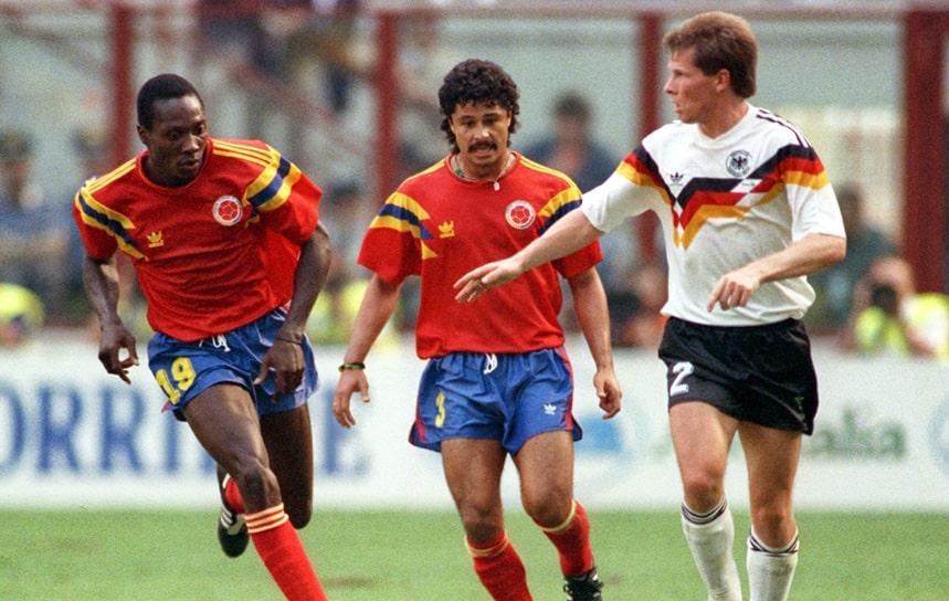Colombia 1 - 1 Alemania, Freddy Rincón, Mundial de Fútbol Italia 1990 (2)