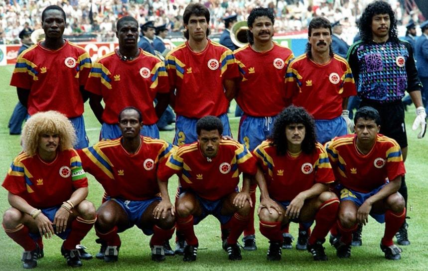 Colombia 1 - 1 Alemania, Mundial de Fútbol Italia 1990
