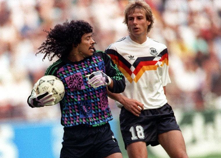 Colombia 1 - 1 Alemania, René Higuita, Mundial de Fútbol Italia 1990