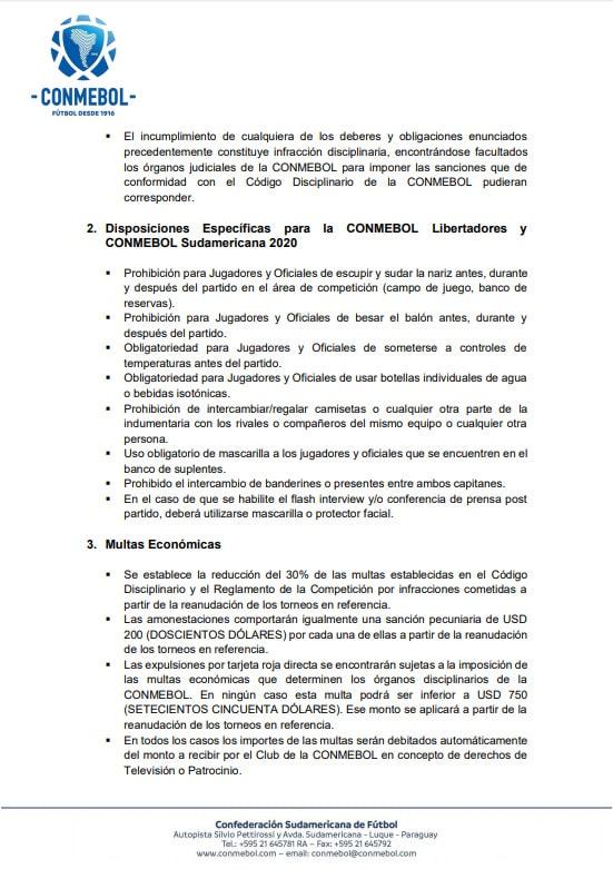 Conmebol, Copa Libertadores 2020, Copa Sudamericana 2020, ajustes (2)