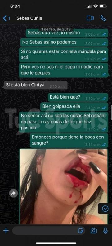 Daniela Cortés, Sebastián Villa, chat 3