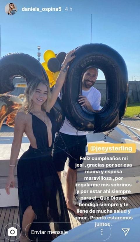 Daniela Ospina, Jessica Sterling, David Ospina, Instagram