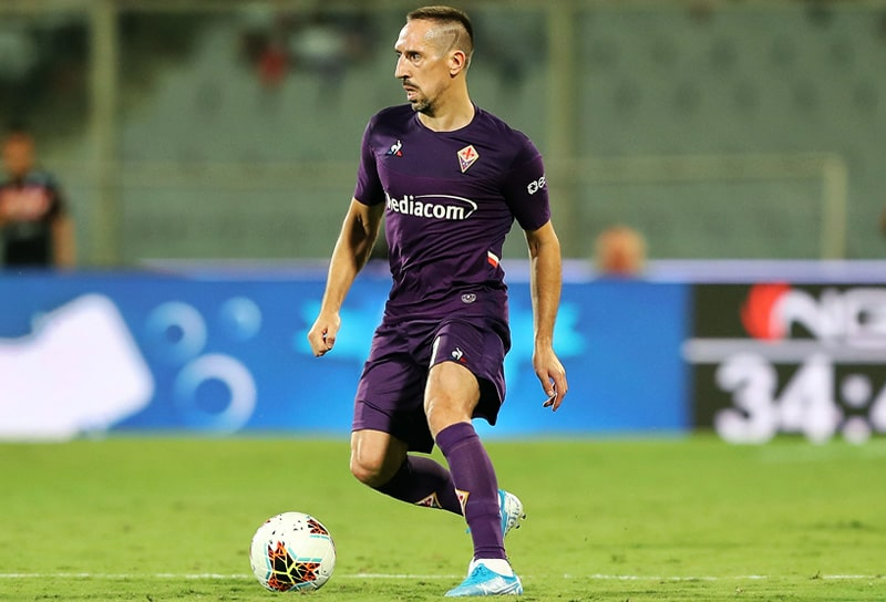Franck Ribéry, ACF Fiorentina, Serie A 2019-20