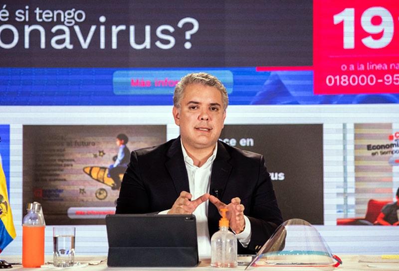 Iván Duque, Colombia, coronavirus COVID-19 (28)
